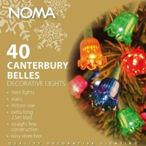 Noma 4405 Canterbury Belles 40 Light Indoor Set (Vintage / Classic Style)