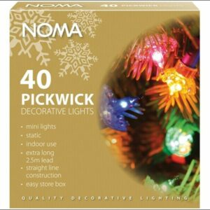 Noma  4311 Pickwick 40 light indoor set (Vintage / Classic)