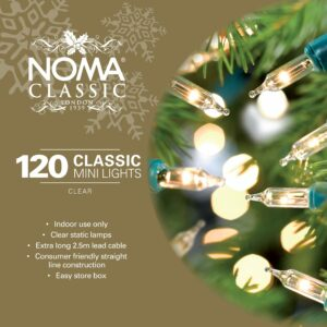 Noma Classic 120 Clear Mini Fairy Lights with Green Cable 912GC