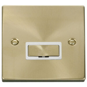 CLICK DECO SATIN BRASS UNSWITCHED SPUR VPSB750WH