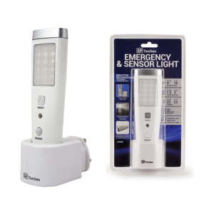 20 LED Rechargeable Emergency Sensor Torch / Area Light